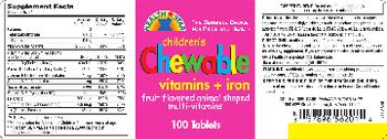 Health Star Children's Chewable Vitamins + Iron -