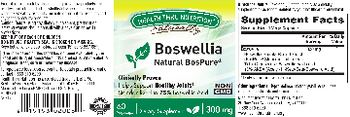 Health Thru Nutrition Naturally Boswellia 300 mg - supplement