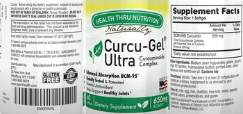 Health Thru Nutrition Naturally Curcu-Gel Ultra - supplement