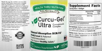 Health Thru Nutrition Naturally Curcu-Gel Ultra - supplement