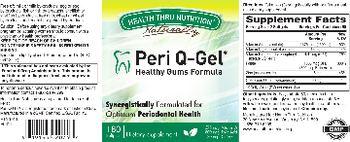 Health Thru Nutrition Naturally Peri Q-Gel - supplement