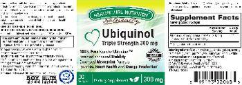 Health Thru Nutrition Naturally Ubiquinol 300 mg - supplement
