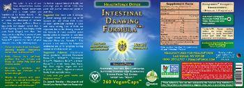 HealthForce Detox Intestinal Drawing Formula - supplement