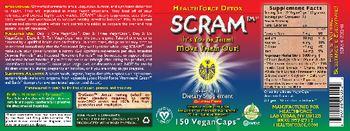 HealthForce Detox SCRAM - supplement