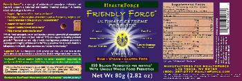 HealthForce Friendly Force Ultimate Extreme Probiotic -