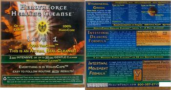 HealthForce Healing Cleanse Intestinal Drawing Formula -