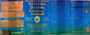 Healthforce Nutritionals Intestinal Drawing Formula Capsules - supplement