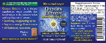 HealthForce Oxygen Extreme - supplement