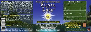 HealthForce SuperFoods Elixir Of The Lake -