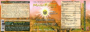 HealthForce SuperFoods MacaForce Lucuma Spice -