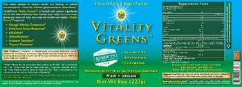 HealthForce SuperFoods Vitality Greens -