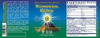 HealthForce SuperFoods Vitamineral Green -