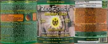 HealthForce ZeoForce -