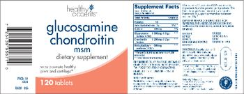 Healthy Accents Glucosamine Chondroitin MSM - supplement