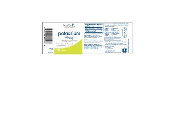 Healthy Accents Potassium 99 mg - supplement