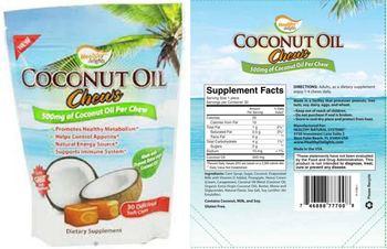 Healthy Delights Coconut Oil Chews - supplement