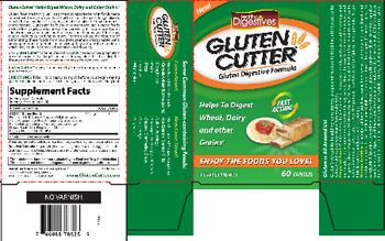 Healthy Digestives Gluten Cutter - supplement