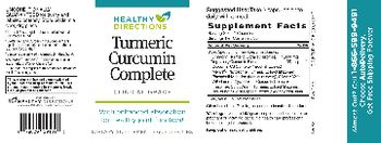 Healthy Directions Turmeric Curcumin Complete - supplement