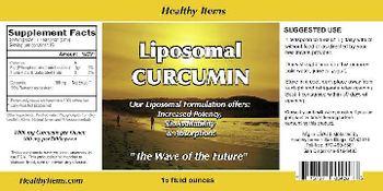 Liposomal Liposomal Curcumin -