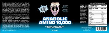 Healthy 'N Fit Anabolic Amino 10,000 - advanced supplement