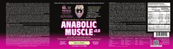 Healthy 'N Fit Anabolic Muscle v2.0 Vanilla Shake - advanced supplement
