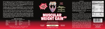 Healthy 'N Fit Muscular Weight Gain v3.0 Extreme Vanilla - advanced supplement