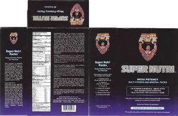 Healthy 'N Fit Super Nutri Packs - advanced supplement