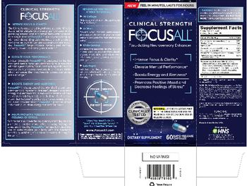 Healthy Natural Solutions FocusAll - supplement