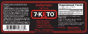 Healthy Origins 7-KETO - supplement