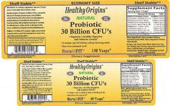 Healthy Origins Probiotic 30 Billion CFU's - supplement