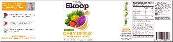 Healthy Skoop Lemongreens Daily Detox With Fermented Turmeric - supplement