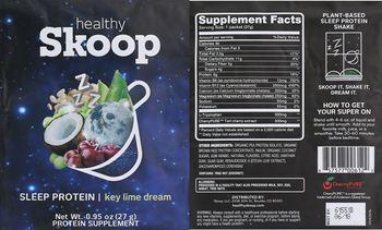 Healthy Skoop Sleep Protein Key Lime Dream - protein supplement