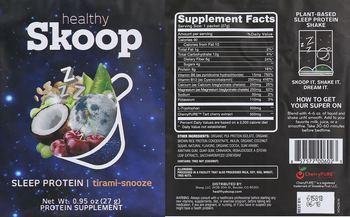 Healthy Skoop Sleep Protein Tirami-Snooze - protein supplement