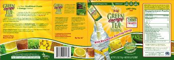 Healthy To Go! Green Energy Tea Fusion - supplement