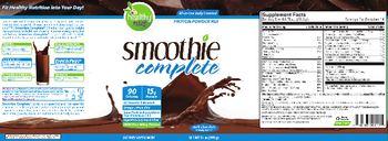 Healthy To Go! Smoothie Complete Dark Chocolate - supplement