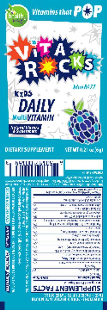 Healthy To Go! Vita Rocks Blue Razz - daily supplement