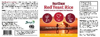 HeartShape Red Yeast Rice - supplement