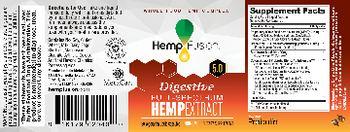 HempFusion Digestive 5.0 Full-Spectrum Hemp Extract - supplement