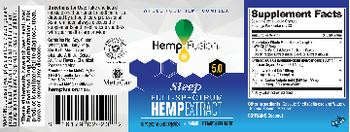 HempFusion Sleep 5.0 Full-Spectrum Hemp Extract - supplement