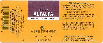 Herb Pharm Alfalfa - herbal supplement