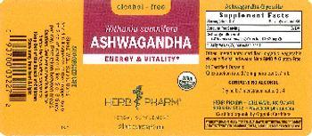 Herb Pharm Ashwagandha Alcohol-Free - herbal supplement