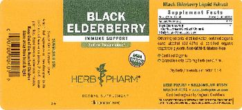 Herb Pharm Black Elderberry - herbal supplement
