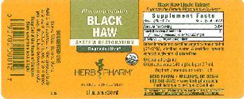 Herb Pharm Black Haw - herbal supplement