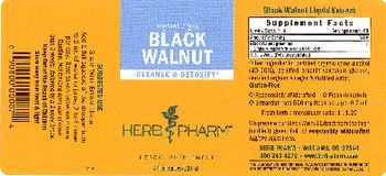 Herb Pharm Black Walnut - herbal supplement