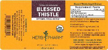 Herb Pharm Blessed Thistle - herbal supplement