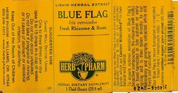 Herb Pharm Blue Flag - herbal supplement