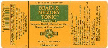 Herb Pharm Brain & Memory Tonic Compound - herbal supplement