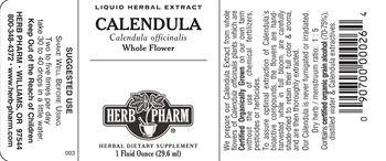 Herb Pharm Calendula - herbal supplement