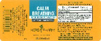 Herb Pharm Calm Breathing - herbal supplement