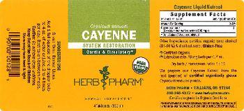 Herb Pharm Cayenne - herbal supplement